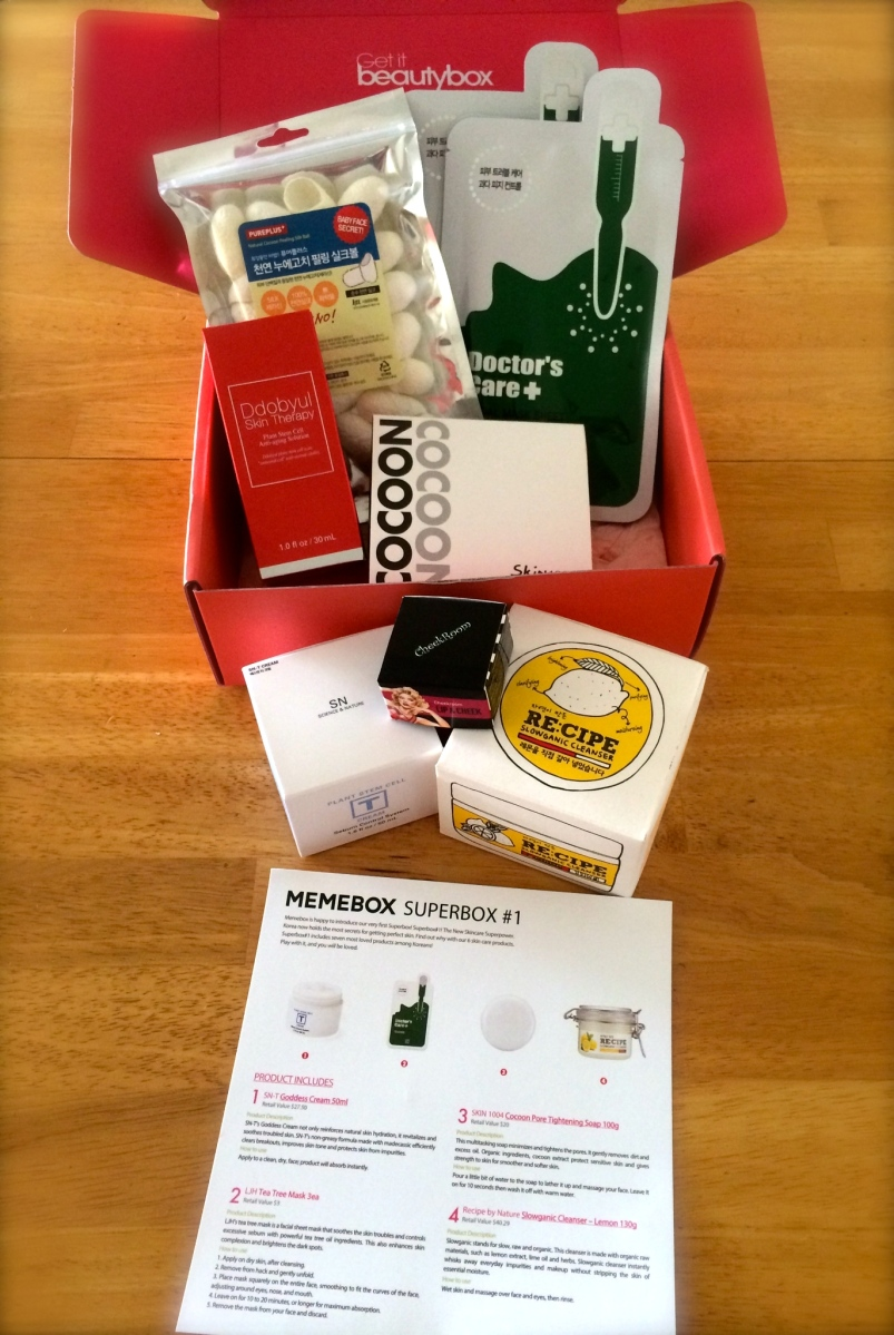 Memebox Luckybox 1