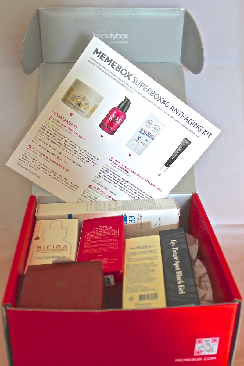 Memebox Superbox 6 Anti-Aging
